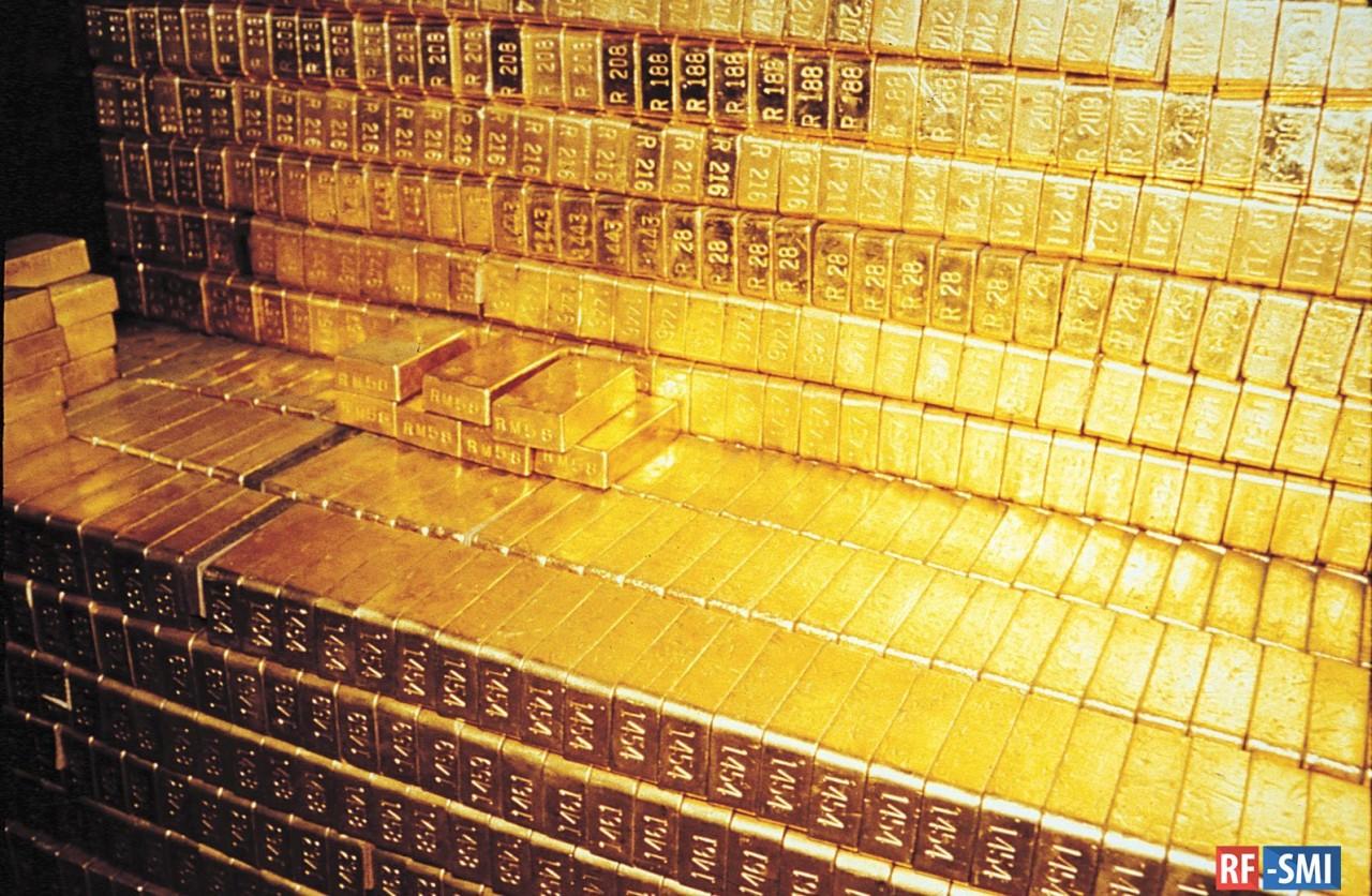 Золото защитит Россию от долларового рэкета