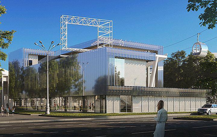 В столице началась подготовка к строительству первой зеркальной станции канатной дороги