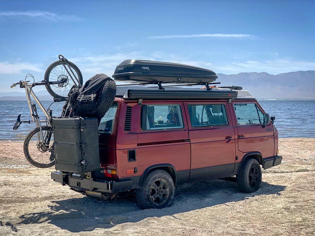 Путешествия со стареньким, но надёжным VW T3