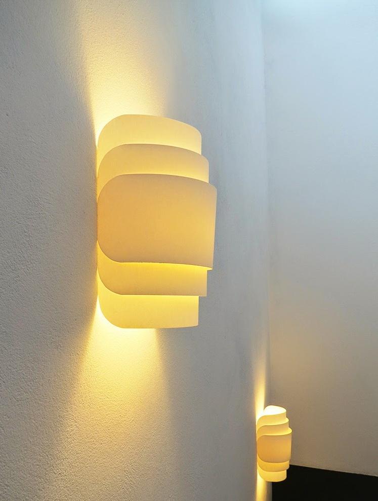 Сделать своими руками светильник на стену