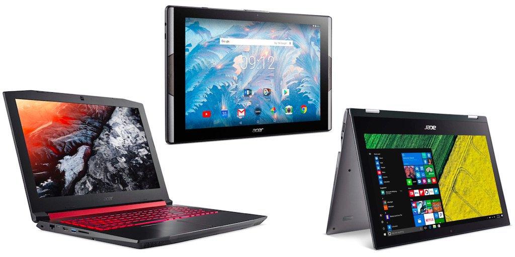 Планшет Iconia Tab 10 с квантовыми точками и другие новинки Acer