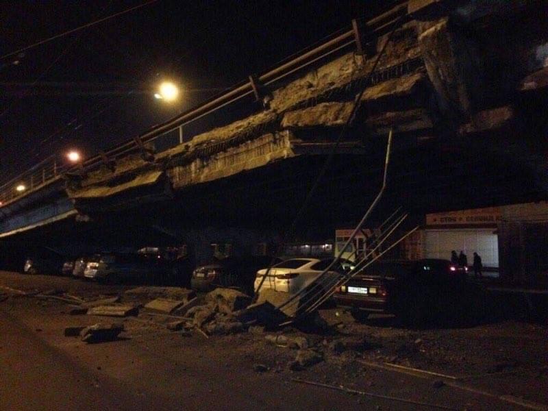 """И сказал мост в Киеве: """"Я устал, я ухожу..."""""""