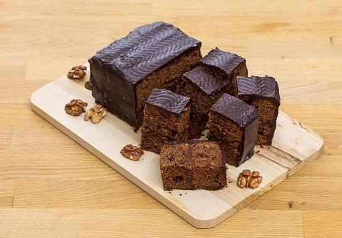 Шоколадно-ореховый бисквит/Фото: К. Виноградов/BurdaMedia