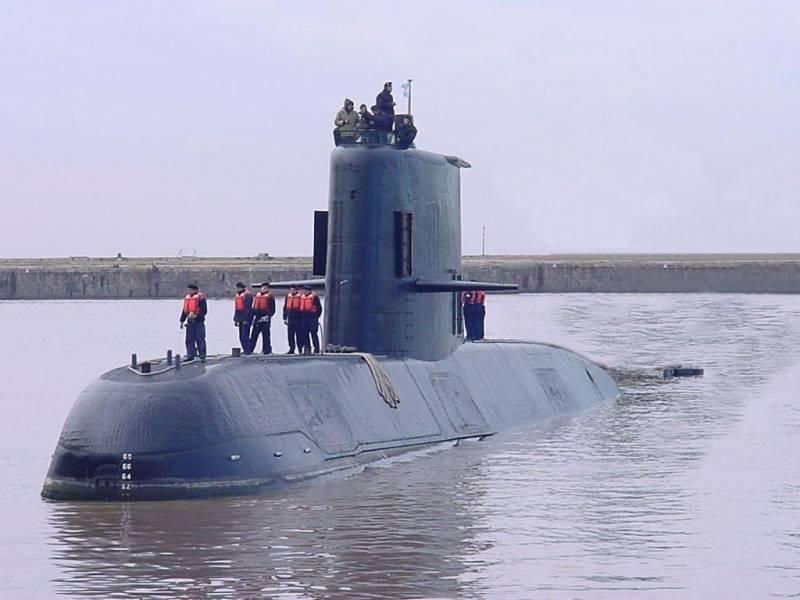Версии по подводной лодке Аргентины