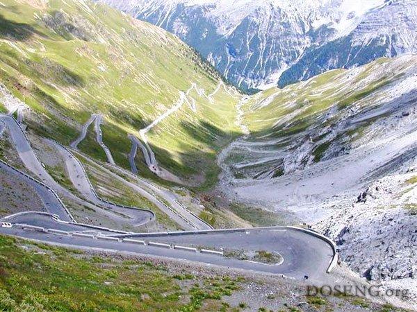 Stelvio Pass 2758 метров над…
