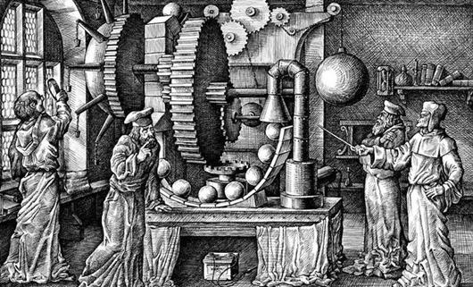 Десять попыток создать вечный двигатель