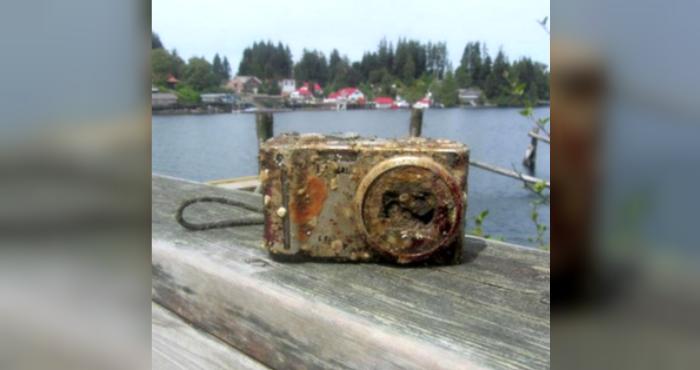 Водолазы нашли камеру на дне океана, и владелец рассказал жуткую историю