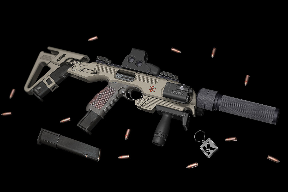 Пистолет (Калашникова) Лебедева ПЛ-14