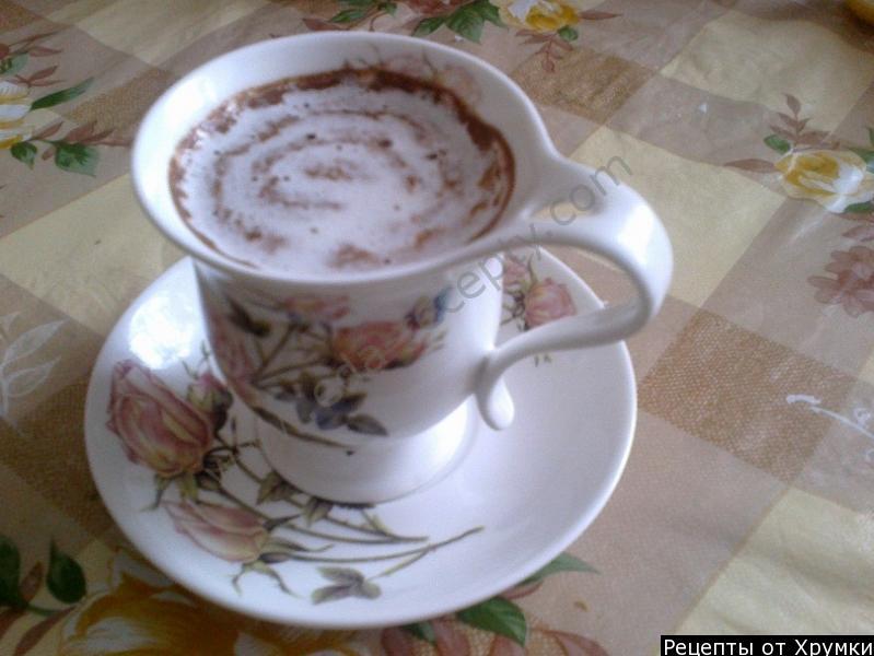 Безалкогольные напитки. Домашний горячий шоколад