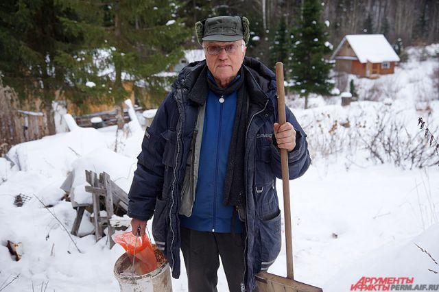 Снежный огород. Пермский пенсионер разработал технологию «зимнего урожая»