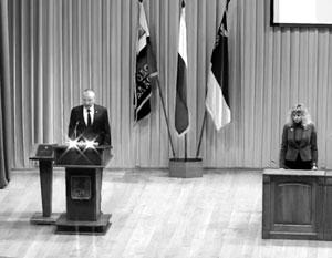 Мэр Белгорода принял присягу под музыку из «Звездных войн»