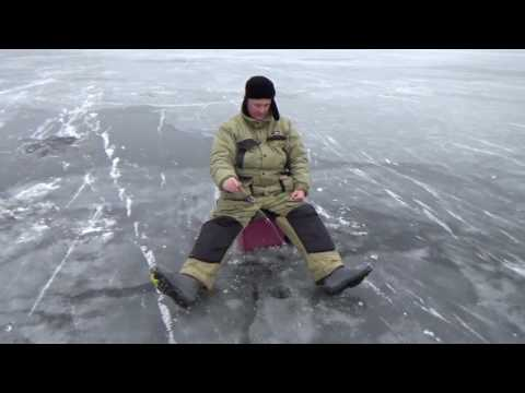 Пестовское водохранилище. Первый лед,ноябрь 2016
