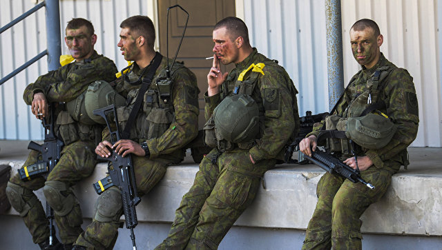 В Литве пьяные военные НАТО устроили драку