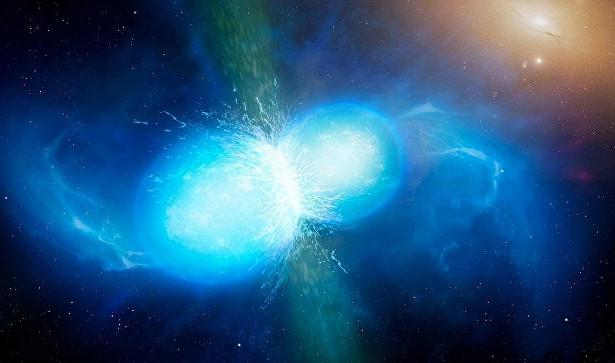 Почти все золото вселенной возникло в результате слияния нейтронных звезд