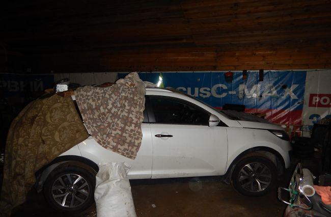 Во Всеволожском районе Ленобласти опять нашли тайник угнанных автомобилей