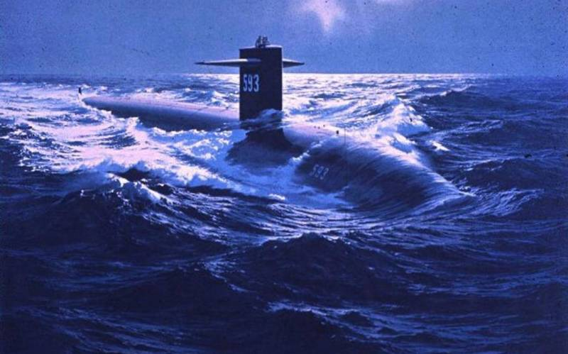 «Морская лисица» уходит на дно Атлантики