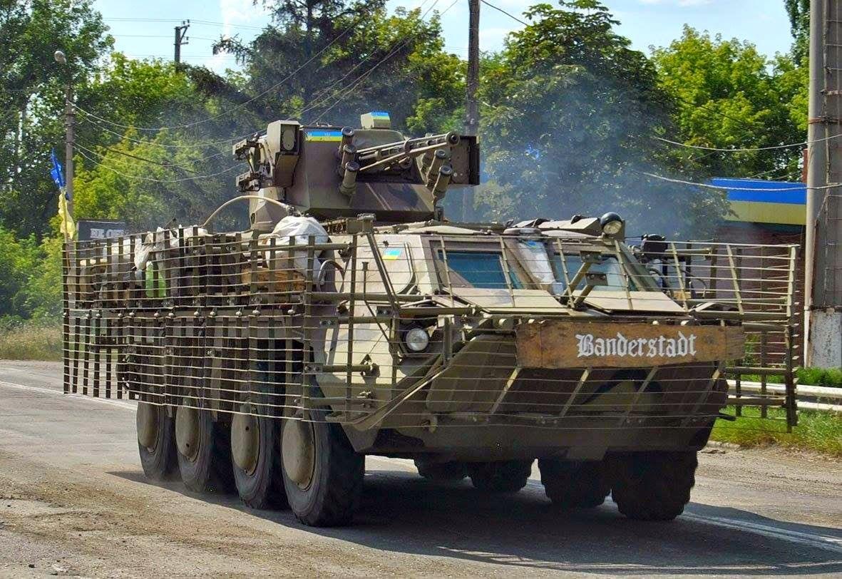"""Украинские боевые модули - """"стрелять можно, попасть нельзя"""""""