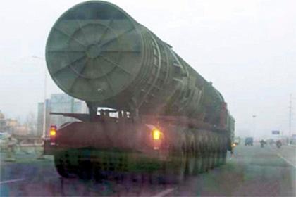 В Китае назвали домыслами сведения о размещении ракет у границ России