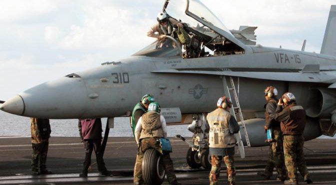 Летчики ВВС США уходят на «гражданку» после встреч в Сирии с «сушками»
