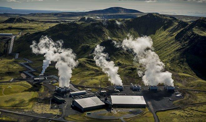 В Исландии запущена электростанция с отрицательным уровнем выбросов