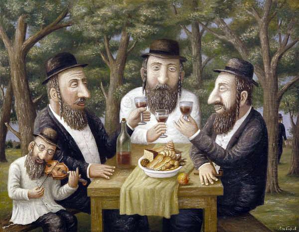 Как-то 3 пожилых еврея решили обсудить свою интимную жизнь