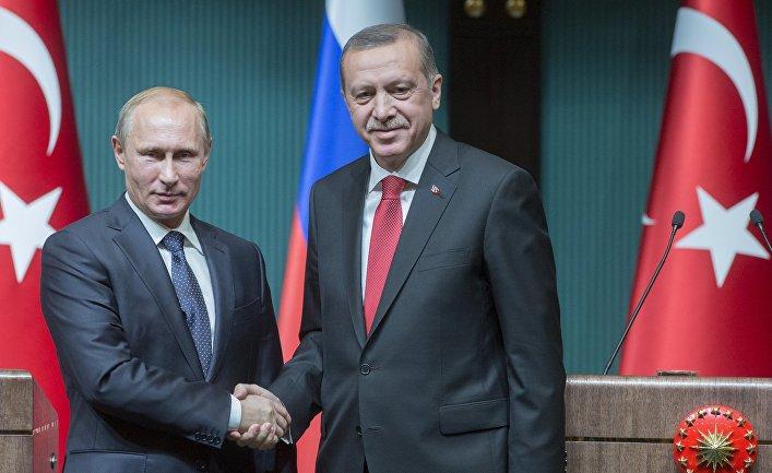 Владимир Путин заявил о восстановлении политического диалога с Турцией