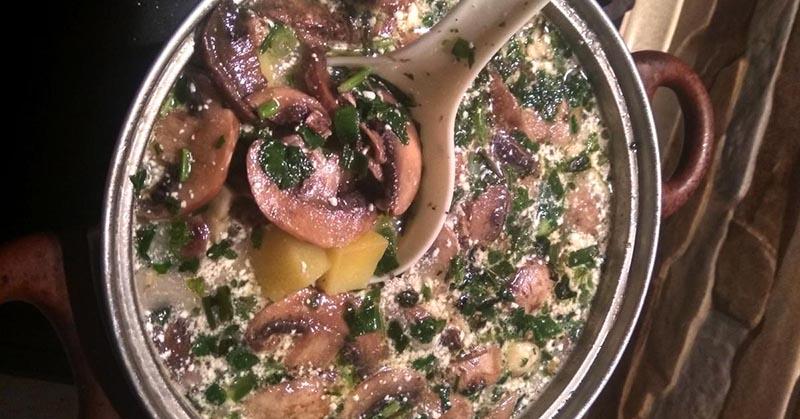 как сделать грибной суп