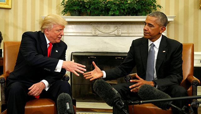 Физиогномист «прочел» лица Обамы и Трампа в Белом доме