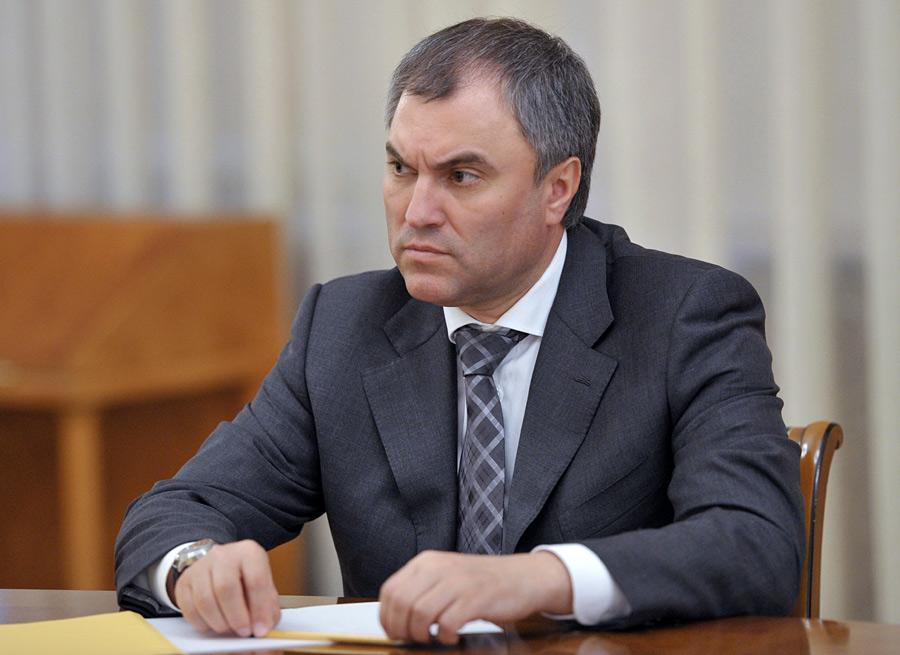 Председатель Государственной думы исключил возможность военного противоборства между Россией иСША вСирии