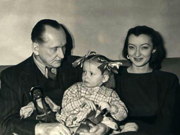 Вертинские с дочерью Марианной | Фото: liveinternet.ru