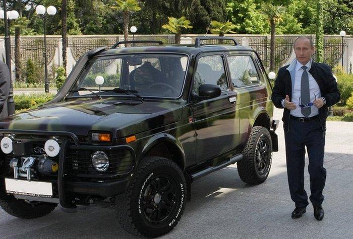 Путинская «НИВА»: автомобиль ВАЗ, который приобрёл в личное пользование президент РФ