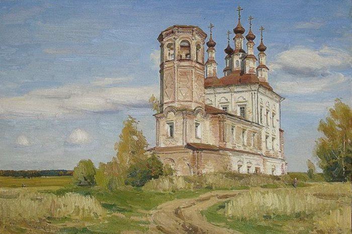 художник Евгений Борисович Молев картины – 08