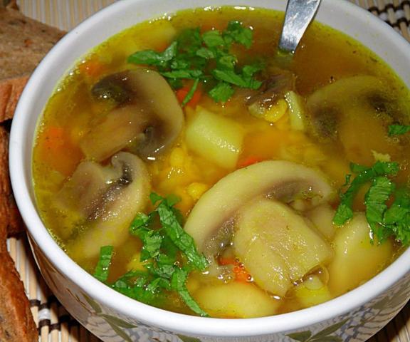 Как сделать суп с окорочком