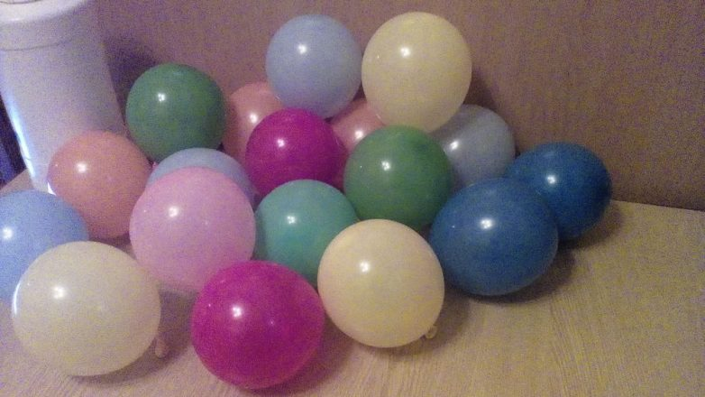Как сделать шарик обычный 974