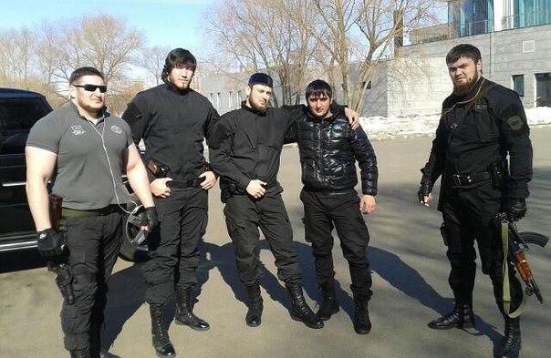 Чеченские разборки в Москве.