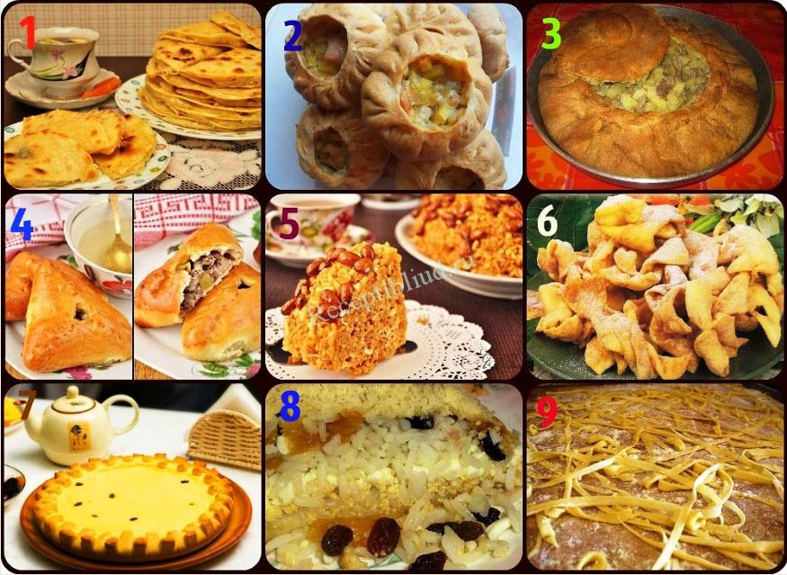Национальные татарские блюда список