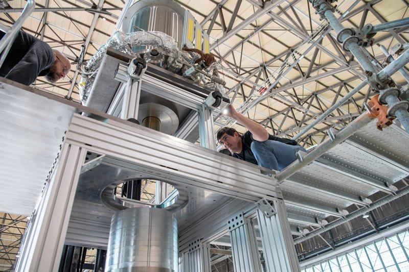 Реактор для марсианской экспедиции испытали в США ynews, луна, марс, пилотируемая экспедиция, поселенцы, реактор
