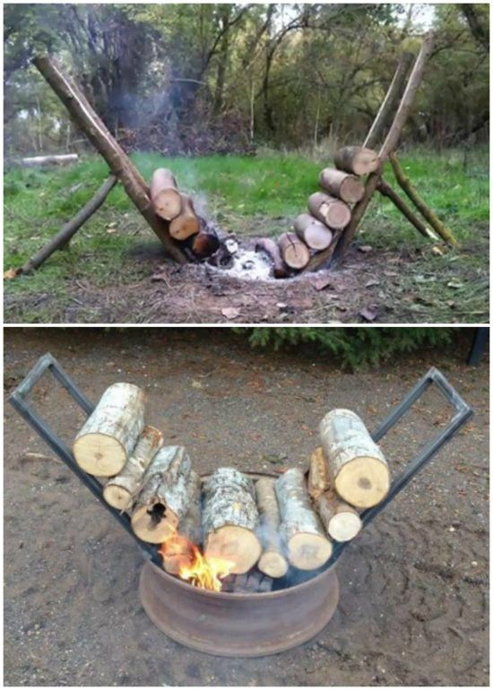 How to Build a Self Feeding Fire That Burns For 14 Hours: