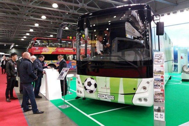 МАЗ создал автобус специально к чемпионату мира по футболу в России