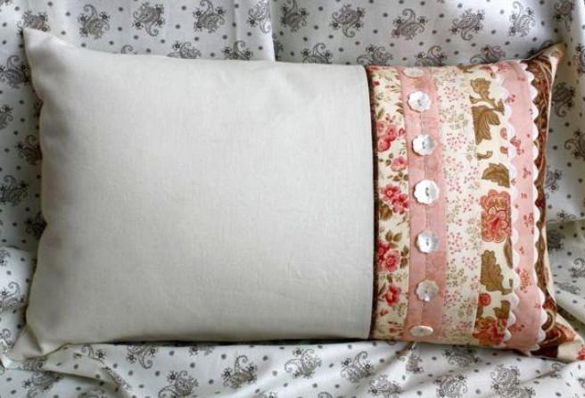 Как сделать наволочку для подушки из