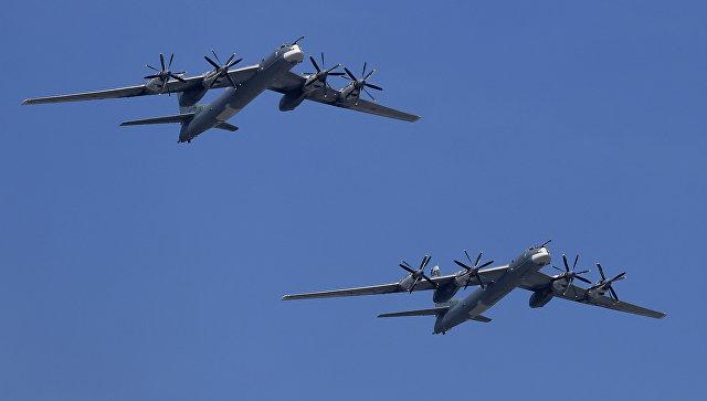США осуществили перехват российских бомбардировщиков над Аляской