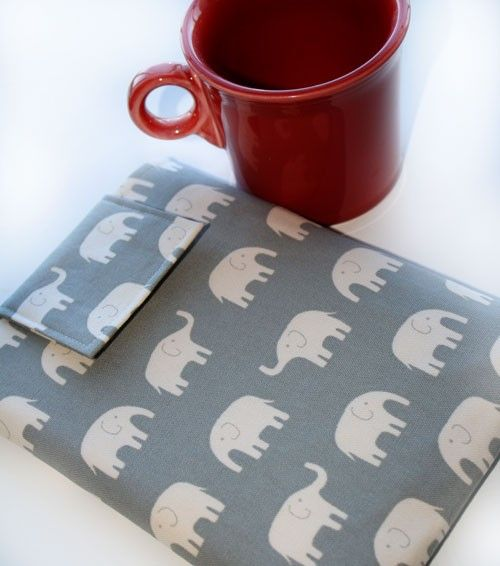 iPad and iPad2 Elephant Sleeve by PuppyDogsNPolkaDots: $21.75 #iPad_Case #PuppyDogsNPolkaDots: