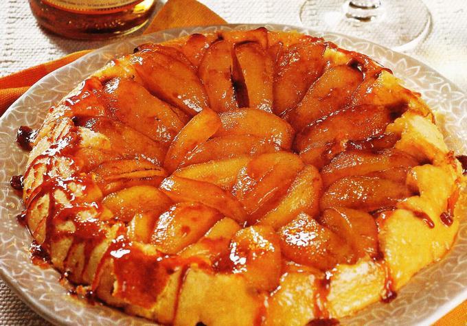 Яблочный пирог-перевёртыш