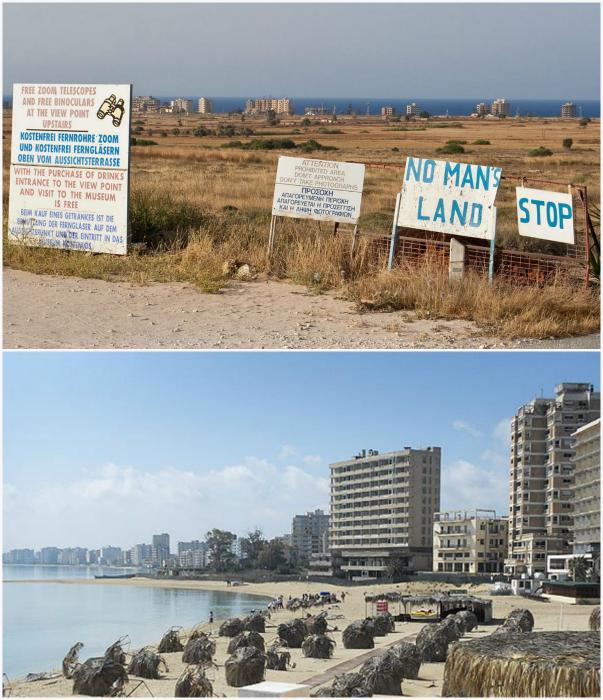Заброшенный город на Кипре.