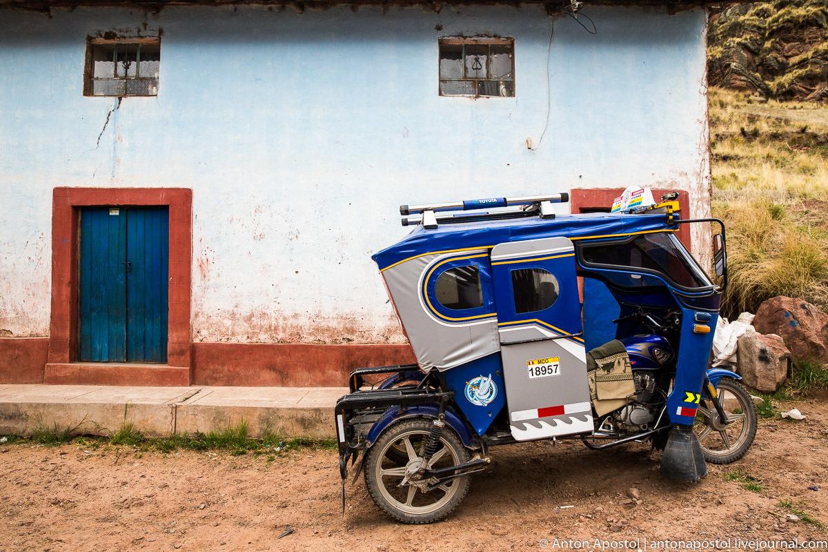 Перуанские мототакси