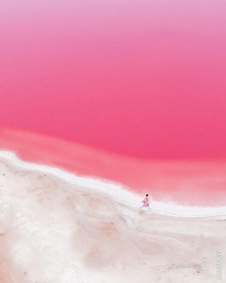 Сказочная Розовая лагуна в работах фотографа Кристины Макеевой
