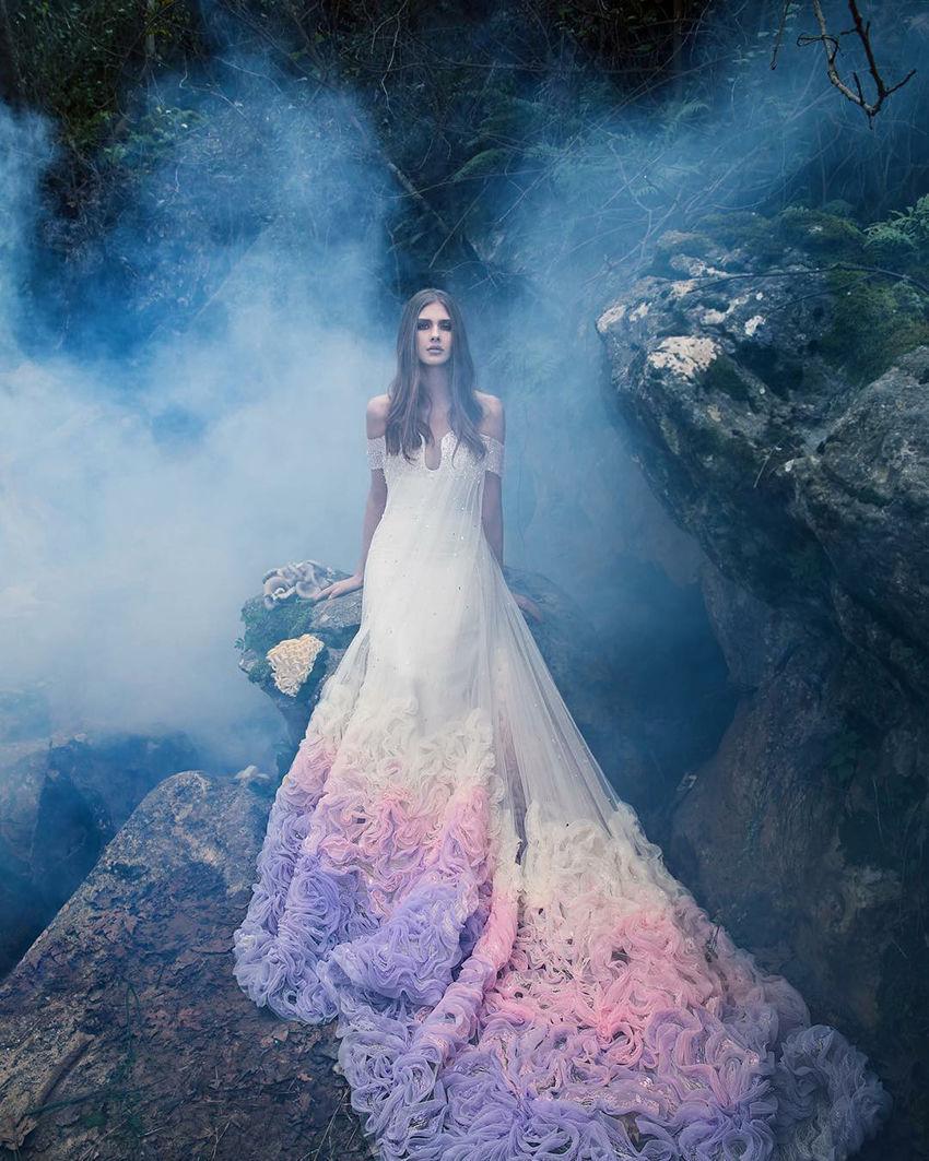 Чистая магия: коллекция Saiid Kobeisy Couture весна–лето 2019