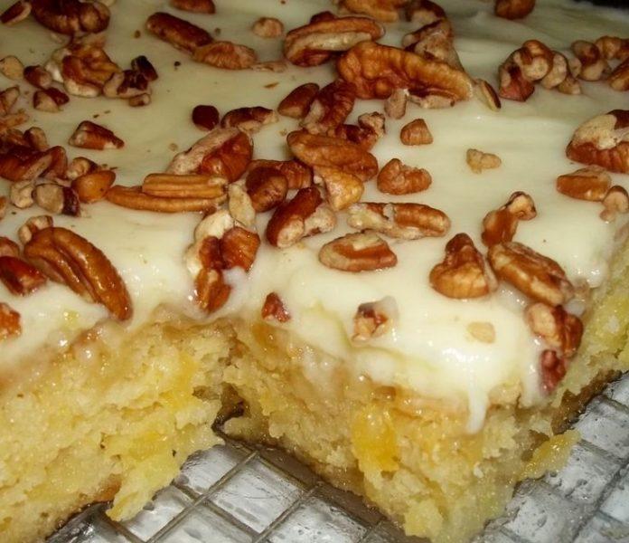 Оригинальный «Самый простой Ананасовый торт»