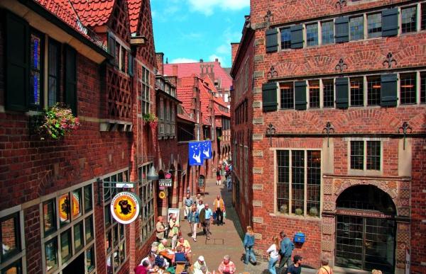 Бремен. 10 самых красивых городов Германии. Интересные города Германии, которые обязательно стоит посетить. Фото с сайта NewPix.ru