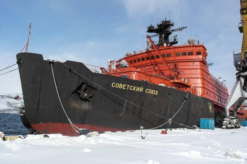 Западные санкции сказались на судьбе российского ледокольного флота